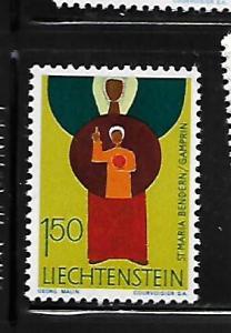 LIECHTENSTEIN, 440, MNH, PATRON SAINTS