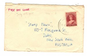 New Zealand Sc#303 First Day Cover