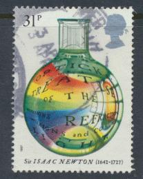 Great Britain SG 1353 -  Used - Isaac Newton