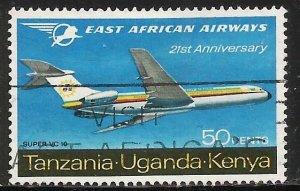Kenya, Uganda & Tanzania 1967 Scott# 173 Used