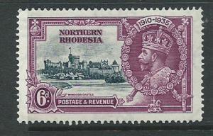Northern Rhodesia  SG 21 MUH