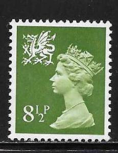 Great Britain Wales WMMH11 8 1/2p Machin MNH