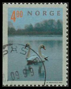Norway 1219 Used  VF