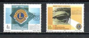 Malta 811-812 MNH