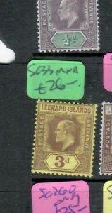 LEEWARD ISLANDS (P2308BB) KE  3D  SG 33       MNH