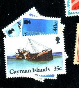 CAYMAN IS 539-42 MINT FVF OG NH Cat $14