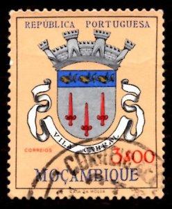Mozambique 1961 Vila Cabral, Coat of Arms 3e Scott.416 Used (#9)
