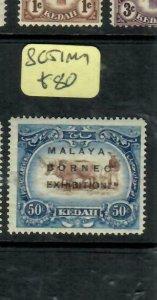 MALAYA KEDAH   (PP2204B)  MBE 50C SG 51    MOG
