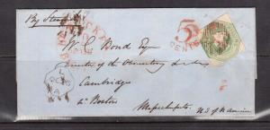 Great Britain #5 VF Used On Choice Cover To Boston