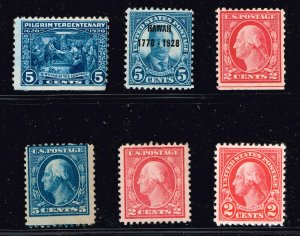 US STAMP UNUSED NG STAMP COLLECTION LOT