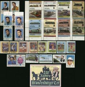 ST.VINCENT Grenadines Postage SPECIMEN Souvenir Topical Stamp Collection MNH OG