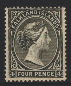 Falkland Islands Sc#6 MH