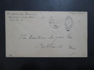US 1908 Albino 2 Cent Postal Stationery / Used - Z8286