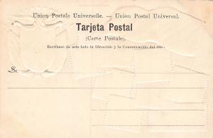 Panama, Early Embossed Stamp Postcard, Published by J.L. Maduro, Unused