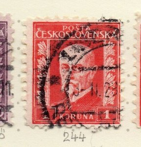 Czechoslovakia 1926-27 Issue Fine Used 1k. NW-148582