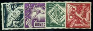 MONACO #C36-9 Complete set, og, NH, VF, Scott $73.00