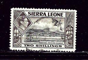 Sierra Leone 182 Used 1938 issue