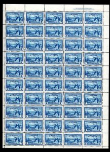 CANADA 7c SG 407 COMPLETE UNMOUNTED MINT SHEET OF 50 Cat £250