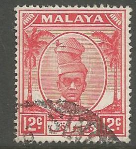 MALAYA, 122,  U, SULTAN YUSSUF
