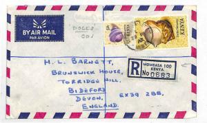 1975 Kenya Registered *MOMBASA DOCKS* CDS Air Cover GB {samwells-covers} LL258