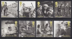 2795-2802 2010 Britain in WWII MNH