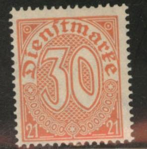 Prussia German Locals Scott  OL13 MH* 1920