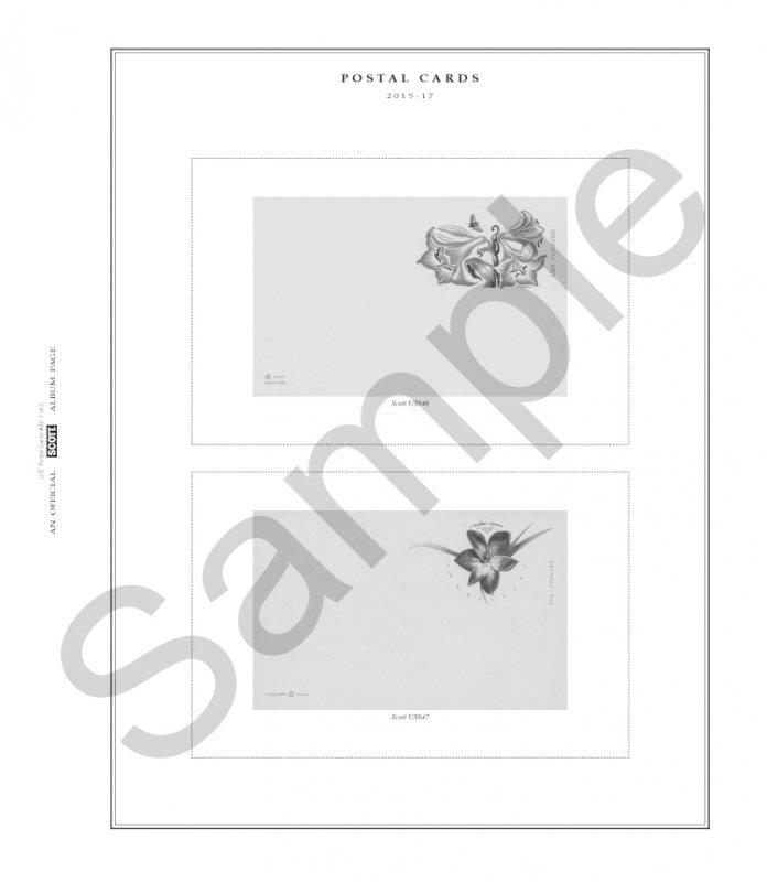 SCOTT U.S. Postal Cards Album (1873 - 2017)