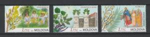 Moldova 2016 Christian Festivals and Folk Traditions 3 MNH stamps