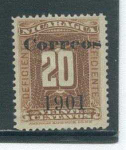 Nicaragua 141  MNG cgs
