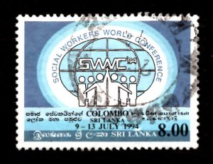 Sri Lanka 1994 World Conf. Federation of Social Workers, Colombo 8r Sc.1104 (#5)