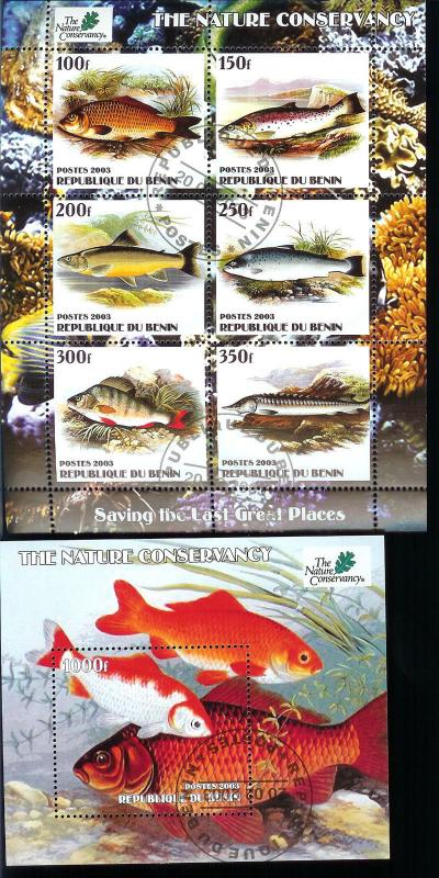 Benin Fish The Nature Conservancy S/s's