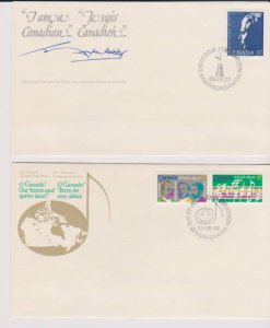 CANADA FDC FROM CANADA POST OFFICE STAMPS #857-868,959 LOT#M147