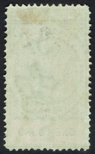 SOUTH AUSTRALIA 1886 QV POSTAGE & REVENUE 1 POUND PERF 11.5 - 12.5