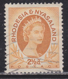 Rhodesia & Nyasaland 143B Queen Elizabeth II 1956