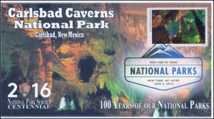 2016, National Parks, Centennial, Carlsbad Caverns, DCP, 16-152