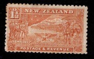 New Zealand Scott 101 MH* Boer War stamp 1901 WMK 63