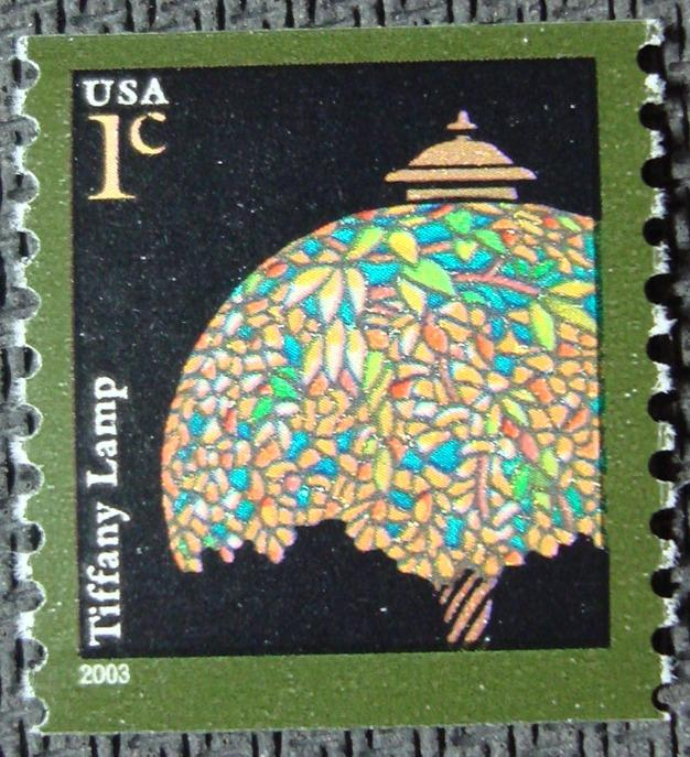 US #3758 MNH Coil Single, Tiffany Lamp, SCV $.20