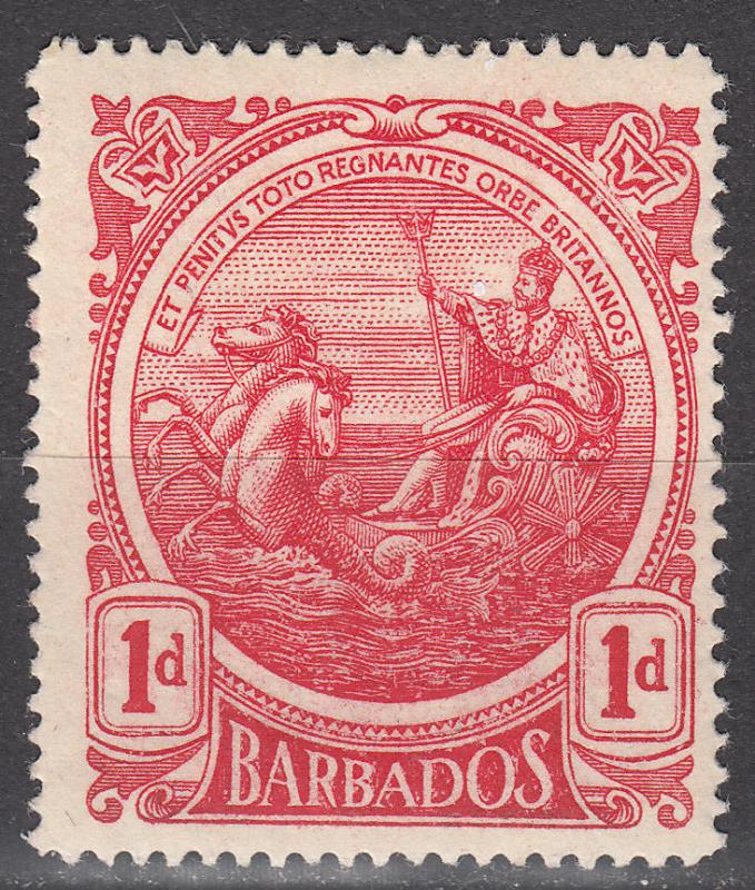 Barbados -1916 1p Seal of the Colony - MH (9431)