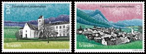 Scott # 1788-9 Village Views MNH