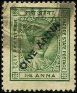 India Indore SC# 33 Used scv $1.20