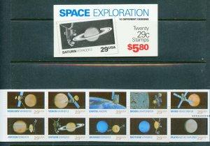 US Scott BK192 UNEXPLOADED  SPACE EXPLORATION Booklet