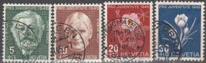 Switzerland #B150-3 F-VF Used  CV $9.00 (D1828)