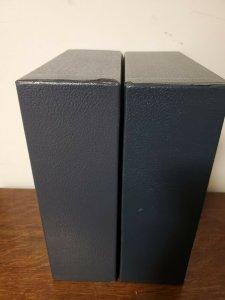 Scott Blue Slipcase Protection Cover For International Regular Binder (used)