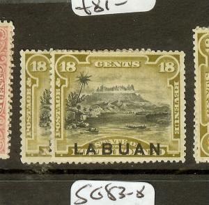 [SOLD] LABUAN (B0802) 18C MOUNTAIN SG71-2  MOG