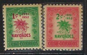 CUBA 469-70 MNH TONING A525