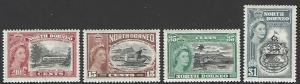 North Borneo #276-279 Mint Hinged Full Set of 4