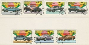 Malagasy Republic 1993 Cars Full Set Mi. 1404-1410 Used 11893