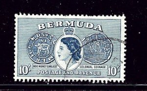 Bermuda 161 Used 1953 issue