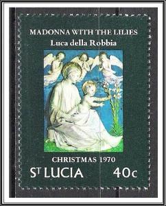 St Lucia #289 Christmas MNH