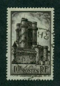 France 1938 #346 U SCV(2018)=$1.90